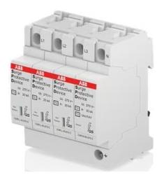 Ограничитель перенапряжения УЗИП ABB OVR T2 3N 40 275P QS 2CTB803973R1100