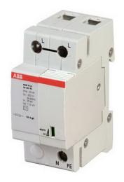 Ограничитель перенапряжения УЗИП ABB OVR T1+2 15 255 7 2CTB815101R8900