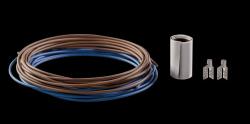 Монтажный комплект для пленочного пола (монтажные зажимы + два провода ) ZM-02