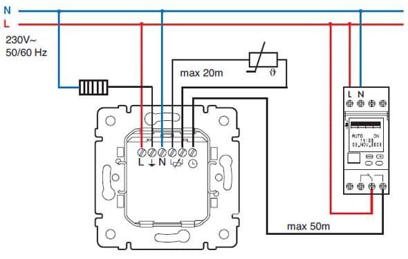 Терморегулятор для теплого